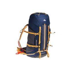 Plecak trekkingowy Easyfit 50 l męski. Niebieskie plecaki męskie marki FORCLAZ, z materiału. Za 299,99 zł.