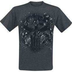 T-shirty męskie z nadrukiem: The Punisher Pun Sledge Granite T-Shirt ciemnoszary