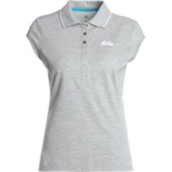 ODLO KUMANO Koszulka polo grey melange. Szare t-shirty damskie Odlo, m, z bawełny. Za 209,00 zł.