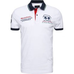 Koszulki polo: La Martina MAN SLIM FIT Koszulka polo optic white