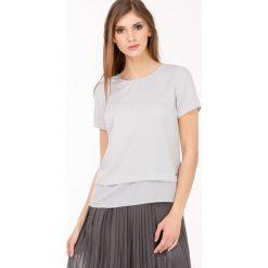 Bluzki asymetryczne: Bluzka w stylu Basic