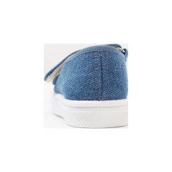 Friboo Baleriny z zapięciem blue. Niebieskie baleriny dziewczęce Friboo, z materiału. Za 129,00 zł.