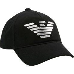 Emporio Armani BASEBALL PROGETTO  Czapka z daszkiem nero. Czarne czapki z daszkiem męskie Emporio Armani. Za 399,00 zł.