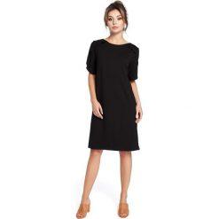 DENIS Sukienka z falbankami - czarna. Fioletowe sukienki balowe marki Reserved, z falbankami. Za 119,00 zł.