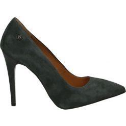 Czółenka - 1080 G315 J18. Czarne buty ślubne damskie Venezia, ze skóry. Za 299,00 zł.