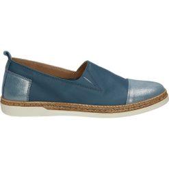 Mokasyny damskie: Mokasyny - 103E FLO BLUE