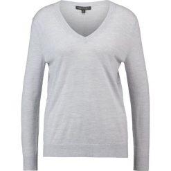 Swetry klasyczne damskie: Banana Republic Sweter light grey heather