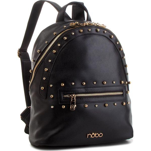 479afd894f7a2 Plecak NOBO - NBAG-F2400-C020 Czarny - Czarne plecaki damskie Nobo, bez  wzorów, ze skóry ekologicznej, klasyczne. W wyprzedaży za 169,00 zł.