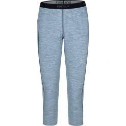 Legginsy sportowe damskie: Sportowe legginsy w kolorze błękitnym