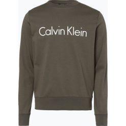 Calvin Klein - Męska bluza nierozpinana, zielony. Zielone bejsbolówki męskie Calvin Klein, m, z bawełny. Za 299,95 zł.