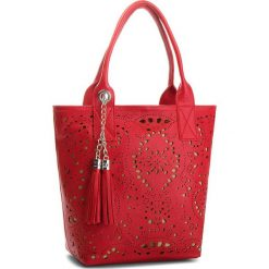 Torebka CREOLE - K10554 Czerwony. Czerwone torebki klasyczne damskie Creole, ze skóry. W wyprzedaży za 189,00 zł.
