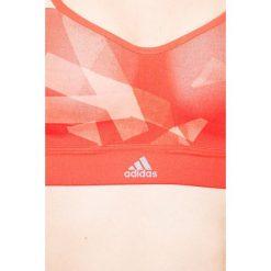 Adidas Performance - Biustonosz. Czerwone biustonosze z fiszbinami marki adidas Performance, m. W wyprzedaży za 129,90 zł.
