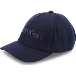 Czapka z daszkiem CALVIN KLEIN - Melton Cap M K50K504127  448. Niebieskie czapki z daszkiem męskie marki Calvin Klein, z materiału. Za 179,00 zł.