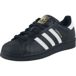 Adidas Superstar Foundation Buty sportowe czarny/biały. Czarne buty skate męskie marki Adidas, z kauczuku. Za 399,90 zł.