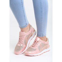 Różowe Buty Sportowe Ever Think. Czerwone buty sportowe damskie marki KALENJI, z gumy. Za 79,99 zł.