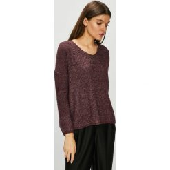 Only - Sweter. Brązowe swetry klasyczne damskie ONLY, l, z dzianiny. Za 149,90 zł.