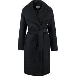 Mint&berry Płaszcz wełniany /Płaszcz klasyczny  black. Czarne płaszcze damskie wełniane marki mint&berry, klasyczne. W wyprzedaży za 407,20 zł.