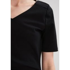Sukienki hiszpanki: Kaffe INDIA Sukienka z dżerseju black deep
