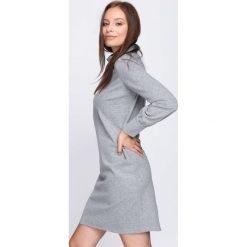 Szara Sukienka Always Feeling Good. Szare sukienki mini marki Born2be, l. Za 74,99 zł.
