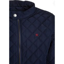 Hackett London ESSENTIAL QUILTED MOTO HARINGTON Kurtka zimowa dark blue. Niebieskie kurtki chłopięce zimowe marki Hackett London, z bawełny. W wyprzedaży za 434,85 zł.