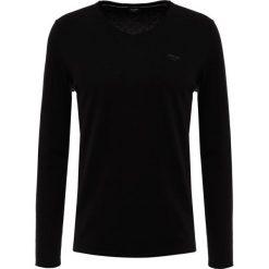 JOOP! Jeans GIANNI EXCLUSIVE Sweter black. Czarne swetry klasyczne męskie JOOP! Jeans, m, z bawełny. Za 419,00 zł.