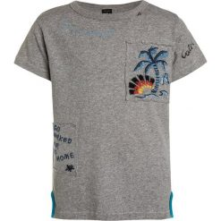 Replay Tshirt z nadrukiem grey melange medium. Szare t-shirty męskie Replay, z nadrukiem, z bawełny. Za 159,00 zł.