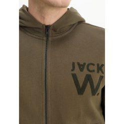 Bejsbolówki męskie: Jack Wills HARTFIELD HIGH NECK Bluza rozpinana olive