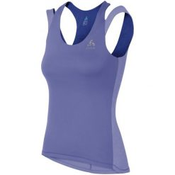 Bluzki sportowe damskie: Odlo Koszulka Treningowa Clio Dusted Peri Xs