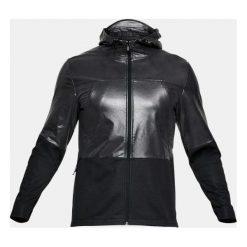 Odzież sportowa męska: Under Armour Kurtka męska UA Swacket Hybrid Windbreaker czarna r. S (1306456-001)