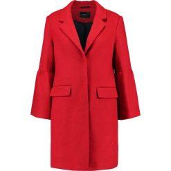 Płaszcze damskie pastelowe: Cortefiel TAILORED COAT WITH BELLED CUFFS Płaszcz wełniany /Płaszcz klasyczny red