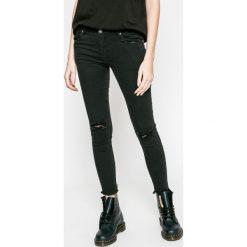 Answear - Jeansy UR Your Only Limit. Czarne jeansy damskie rurki marki ANSWEAR. W wyprzedaży za 99,90 zł.