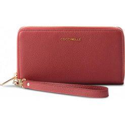 Duży Portfel Damski COCCINELLE - CW5 Metallic Soft E2 CW5 11 05 01 Bourgogne R00. Czarne portfele damskie marki Coccinelle. W wyprzedaży za 419,00 zł.