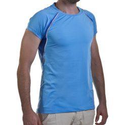 Koszulka damska ASICS - W's Ss Crew Top 322222 8097 L. Niebieskie t-shirty damskie Asics, l, z elastanu. Za 149,00 zł.