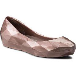 Baleriny damskie: Baleriny UNITED NUDE – Lo Res Lo 1003055321 Rose Glitter