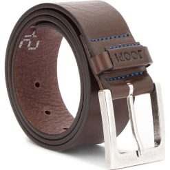 Pasek Męski JOOP! - JEANS 7514 85 52. Brązowe paski męskie marki JOOP!, w paski, z jeansu. W wyprzedaży za 239,00 zł.