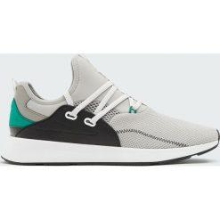 Skarpetki męskie: Szare buty sportowe w stylu skarpety strap