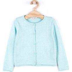 Coccodrillo - Sweter dziecięcy 104-146 cm. Białe swetry dziewczęce marki COCCODRILLO, m, z bawełny, z okrągłym kołnierzem. Za 59,90 zł.