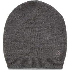 Czapka EMPORIO ARMANI - 394552 8A510 00048 S Melange Grey. Szare czapki zimowe damskie Emporio Armani, z materiału. Za 319,00 zł.