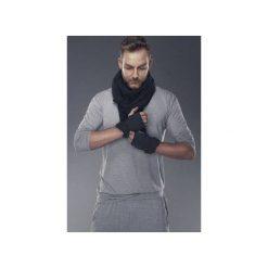 Rękawiczki. Czarne rękawiczki męskie Agi jensen design, z bawełny. Za 190,00 zł.