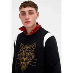 Bejsbolówki męskie: Bluza z haftowanym tygrysem