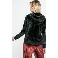 Dkny - Bluza piżamowa. Szare piżamy damskie DKNY, m, z dzianiny, z długim rękawem. W wyprzedaży za 139,90 zł.