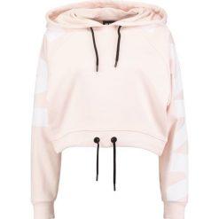 Bluzy rozpinane damskie: Ivy Park BOXY Bluza z kapturem pale pink