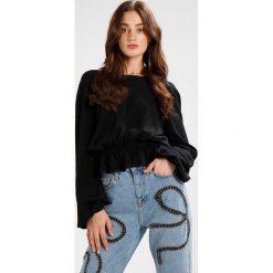 Bluzki asymetryczne: Ivyrevel CASELLI BLOUSE Bluzka black