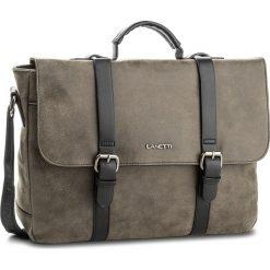 Torba na laptopa GINO LANETTI - RM0125  Czarny. Szare plecaki męskie Gino Lanetti. Za 149,99 zł.