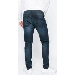 Only & Sons - Jeansy Warp. Niebieskie jeansy męskie skinny Only & Sons, z bawełny. W wyprzedaży za 139,90 zł.
