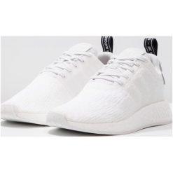 Adidas Originals NMD_R2 Tenisówki i Trampki crystal white/core black. Białe tenisówki damskie marki adidas Originals, z materiału. W wyprzedaży za 455,20 zł.