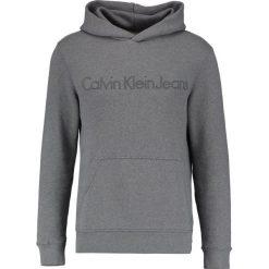 Calvin Klein Jeans HARPO Bluza z kapturem grey. Szare bluzy męskie rozpinane Calvin Klein Jeans, m, z bawełny, z kapturem. Za 499,00 zł.