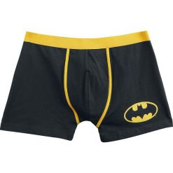Bokserki męskie: Batman Logo Bokserki czarny/żółty