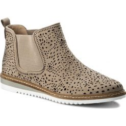 Sztyblety CAPRICE - 9-25400-20 Grey Nubuc 204. Szare buty zimowe damskie Caprice, z materiału. W wyprzedaży za 169,00 zł.