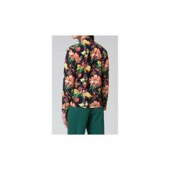 Koszule wiązane damskie: Koszule Mosali  Bluzka M037 Ciemny Print